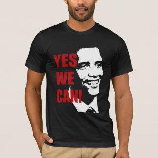 Sim nós podemos camisa de Barack Obama t