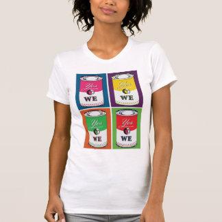 """Sim nós"" PODEMOS camisetas femininas"