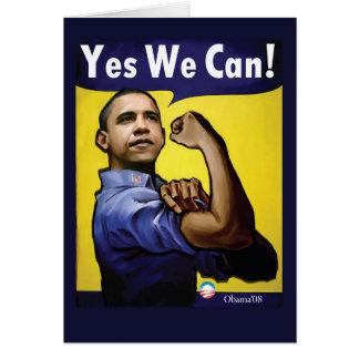 Sim nós podemos! Cartão