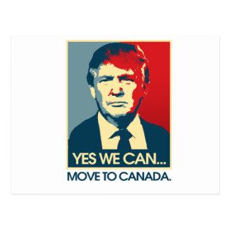 Sim nós podemos transportar-se a Canadá -- Cartão Postal