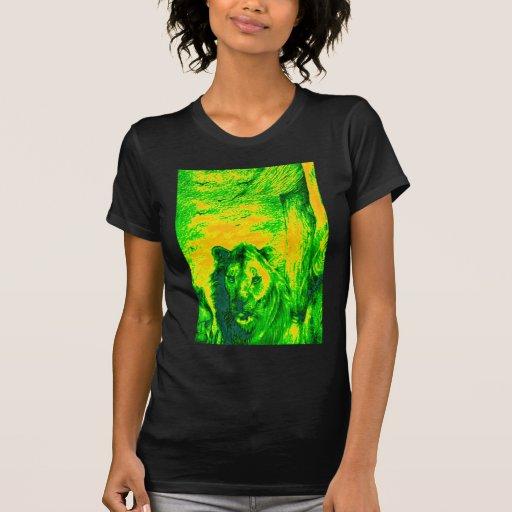Simba verde Hakunamatata Simba Marara do leão do v Tshirts