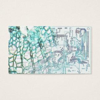 simbiose - conceito cartão de visitas