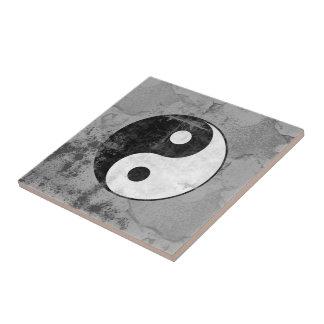 Símbolo afligido de Yin Yang