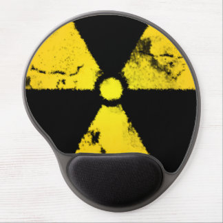 Símbolo afligido Mousepad da radiação Mouse Pad De Gel