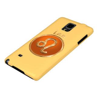 Símbolo astrológico de Leo Capas Galaxy Note 4