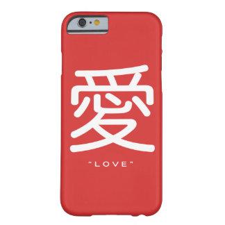 Símbolo chinês para o caso do iPhone 6 da arte da Capa Barely There Para iPhone 6