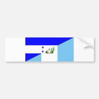 símbolo da bandeira do país de honduras guatemala adesivo de para-choque
