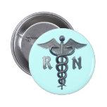 Símbolo da enfermeira diplomada boton