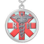 Símbolo da enfermeira diplomada pingente