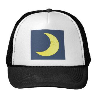 Símbolo da lua bonés