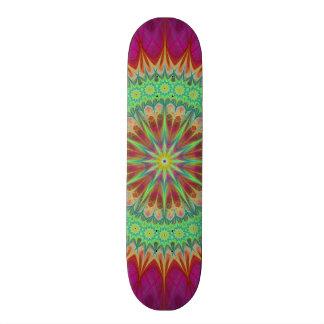 Símbolo da mandala shape de skate 20,6cm