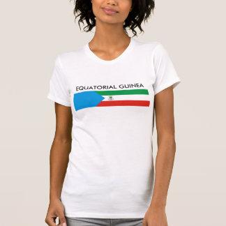 Símbolo da nação da bandeira de país da Guiné Tshirts