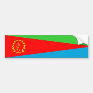 símbolo da nação da bandeira de país de eritrea adesivo para carro
