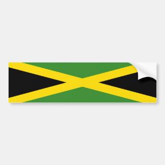 símbolo da nação da bandeira de país de jamaica adesivo para carro