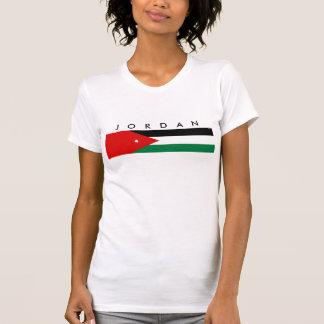 símbolo da nação da bandeira de país de Jordão Tshirt