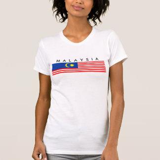 símbolo da nação da bandeira de país de malaysia t-shirts