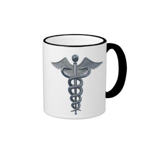 Símbolo da profissão médica caneca