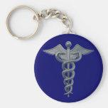 Símbolo da profissão médica chaveiros
