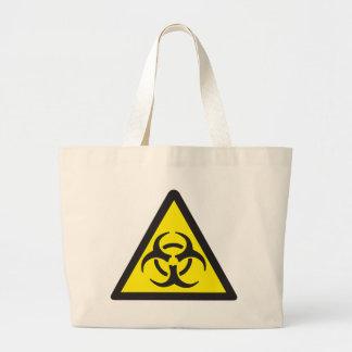 Símbolo de advertência do Biohazard Bolsa Para Compra