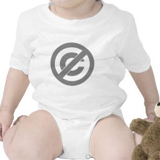 Símbolo de Anti-Copyright do dominio público Macacãozinho Para Bebês