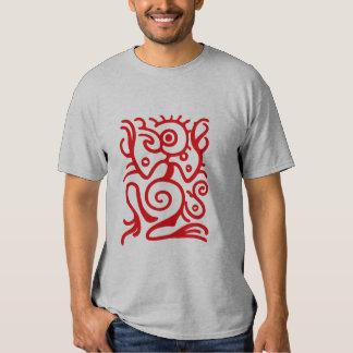 Símbolo de Birdman do Maya Camiseta