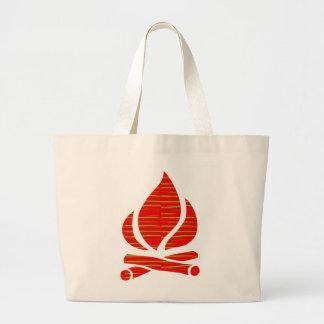 Símbolo de FOGO da energia PURA POSITIVA do espíri Bolsa Para Compras