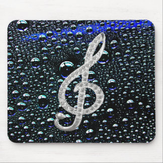 Símbolo de Gclef da música Mouse Pad