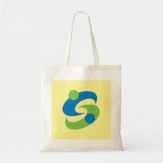 Símbolo de japão da prefeitura de saga da bandeira sacola tote budget