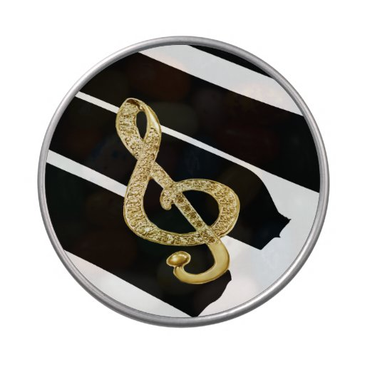 Símbolo de música latinhas de menta