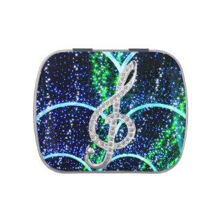 Símbolo de música latinhas personalizadas