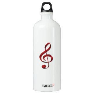 Símbolo de música vermelho de Gclef