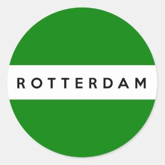símbolo de Países Baixos da bandeira da cidade de Adesivo