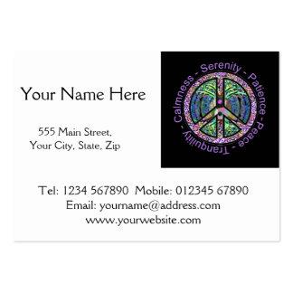 Símbolo de paz com paz harmonia equilíbrio