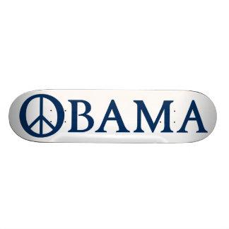 Símbolo de paz de Obama Skateboard