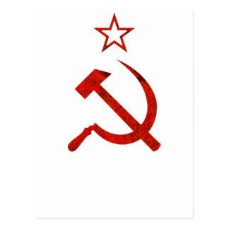 Símbolo de URSS Cartão Postal