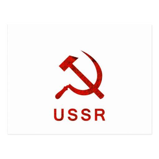 Símbolo de URSS Cartoes Postais