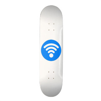 Símbolo de Wifi Shape De Skate 21,6cm