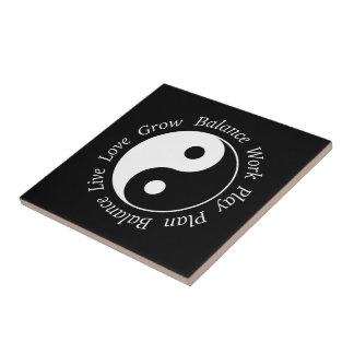 Símbolo de Yin Yang do equilíbrio