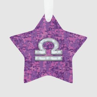Símbolo Digital cor-de-rosa fúcsia Camo do zodíaco