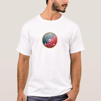 Símbolo do átomo (branco) camiseta