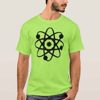símbolo do átomo camiseta
