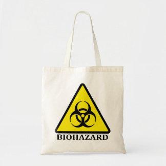 Símbolo do BioHazard Sacola Tote Budget