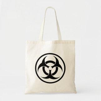 Símbolo do Biohazard Bolsa Para Compras