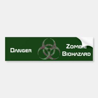 Símbolo do Biohazard do zombi Adesivo