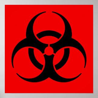 Símbolo do Biohazard Poster
