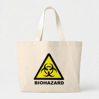 Símbolo do Biohazard Sacola Tote Jumbo