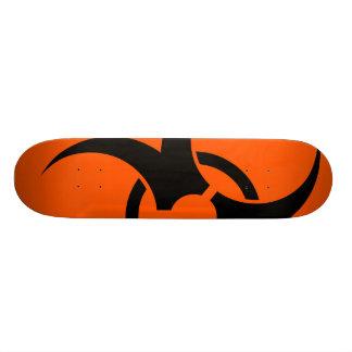 Símbolo do Biohazard Shape De Skate 21,6cm