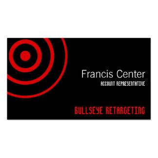 Símbolo do Bullseye Cartão De Visita