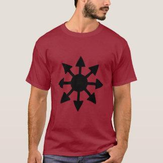 Símbolo do caos camiseta