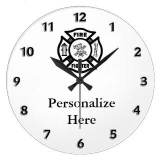 Símbolo do departamento do fogo do relógio grande